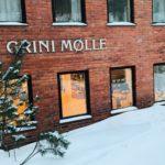 Nærbilde av kontorene våre på Grini Mølle.